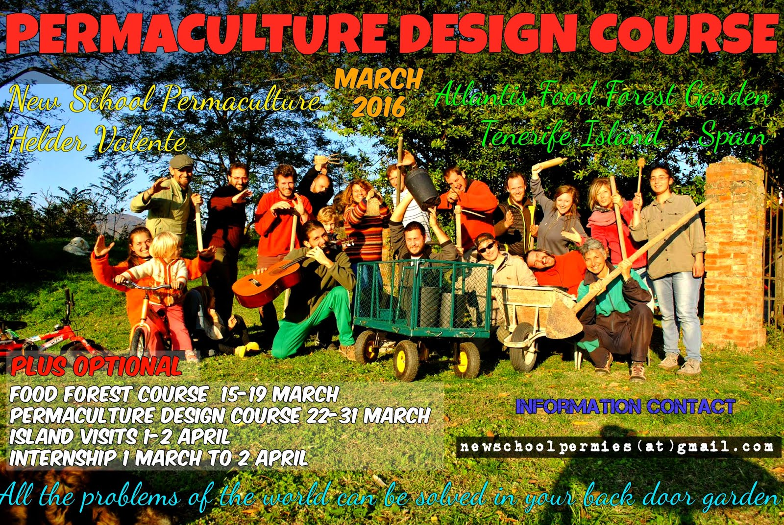 Permaculture design course March