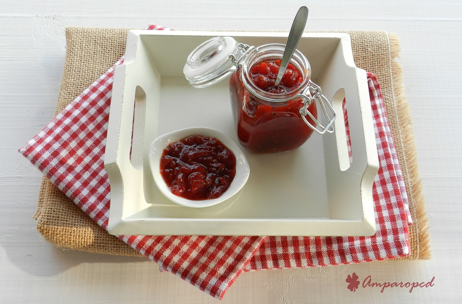 Dulc simos placeres mermelada de pimientos rojos - Mermelada de pimientos rojos ...
