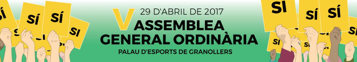 El 29 d'abril, tothom a Granollers! V Assemblea General Ordinària
