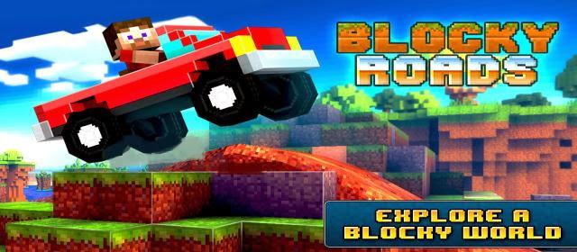 Blocky-Roads-Mod