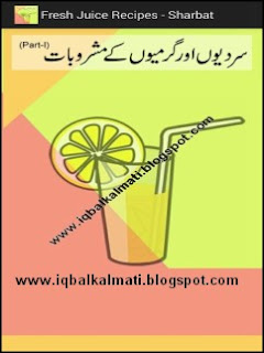 Fresh Healthy Juice Recipes Book in Urdu PDF