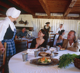 Cape breton tourism spotlight come experience 18th for 18th century french cuisine