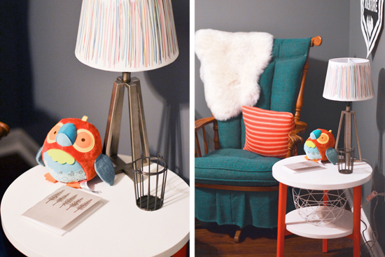 Dancing Commas | Silas' Nursery: Rocking chair
