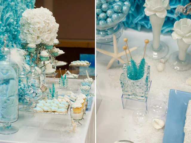 Sweet Tooth | Guest Desserts: Under the Sea Birthday Dessert Table - Fleur de Lis Event Design & Catering Co, images: Catie Ronquillo Wood