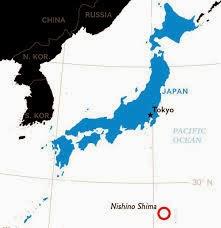 Isla volcánica de Japón crece 30 veces en 3 meses