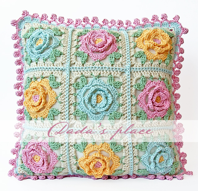 do you remember my post about japanese crochet flowers from the last ...