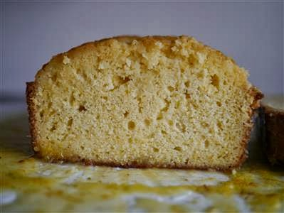 Yum Yum: Cream Cheese Pound Cake with Citrus Glaze