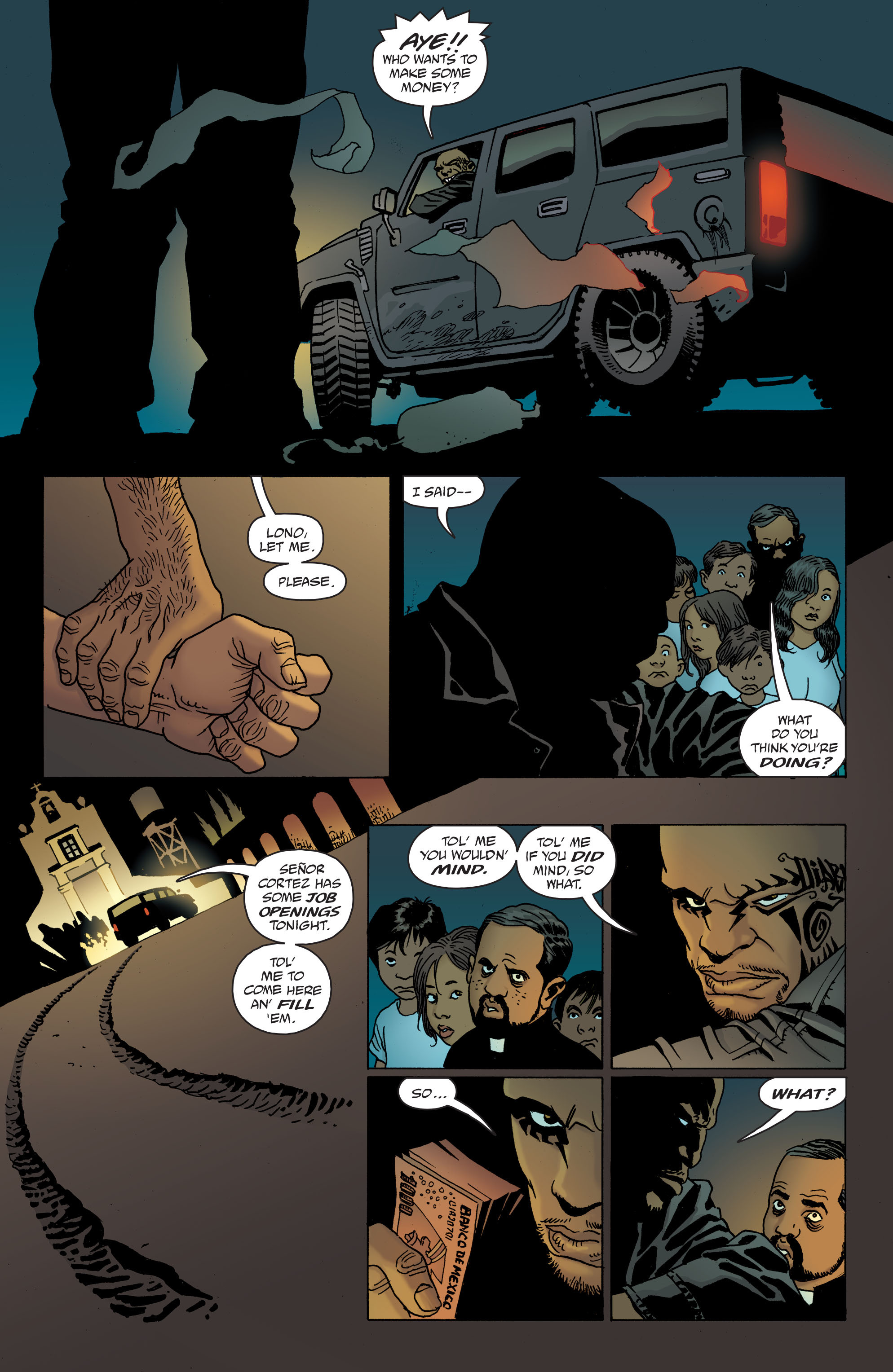 100 Bullets: Brother Lono Full Page 118