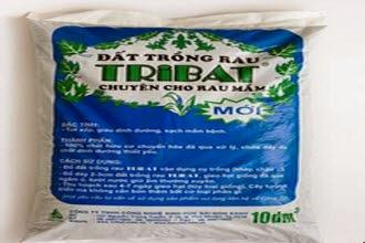Đất Tribat trồng rau mầm loại 10dm3