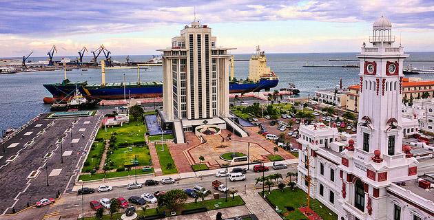 El Puerto de Veracruz en México