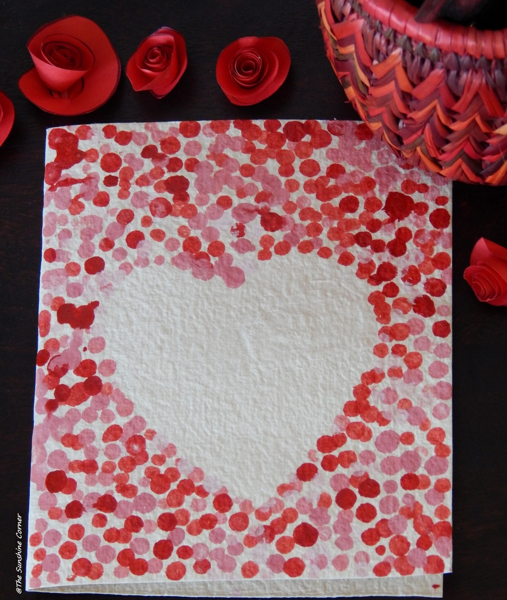 Things You Need Cardboard Sheet I Used Waste Handmade Paper Which Was Good On One Side Ear Budsthree Poster ColorsWhite And Red