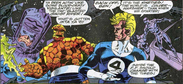 Fantastic Four 370 Thing Human Torch