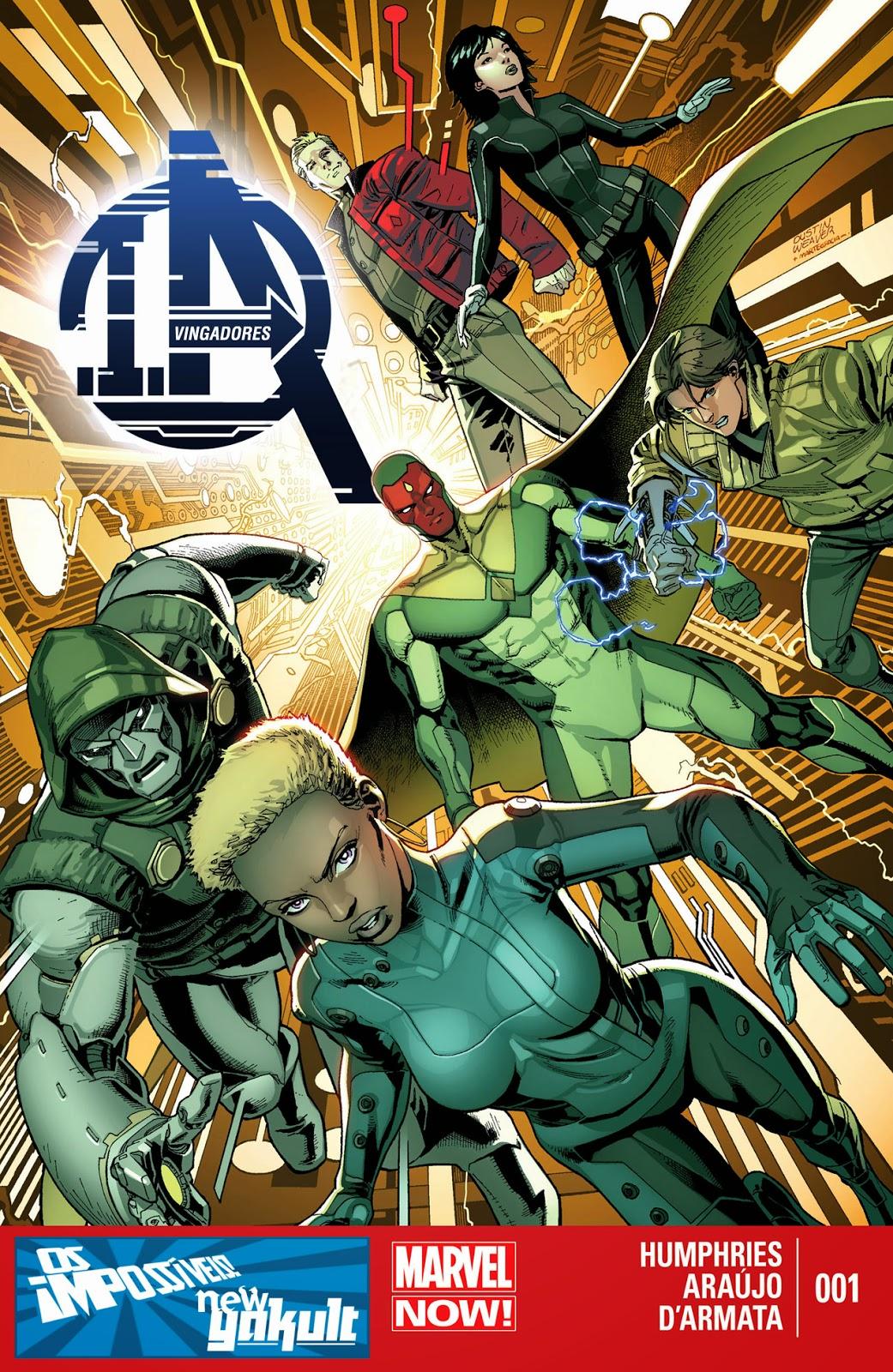 Nova Marvel! Vingadores I.A #1