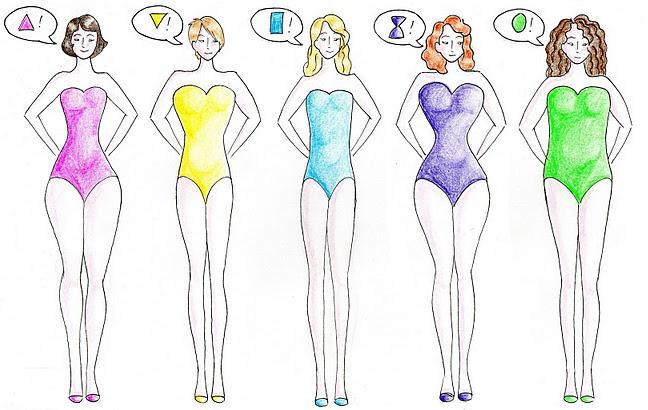 Tipos de cuerpo según proporciones