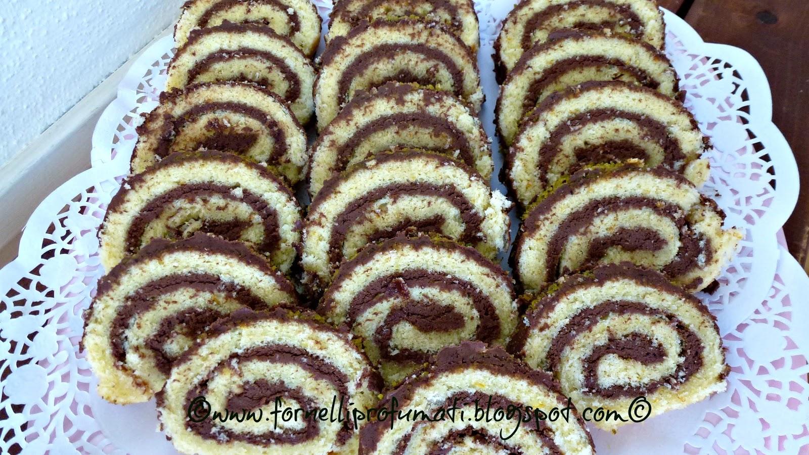 abbastanza Girelle di cioccolato   Fornelli Profumati.tra il dolce e il salato LU55