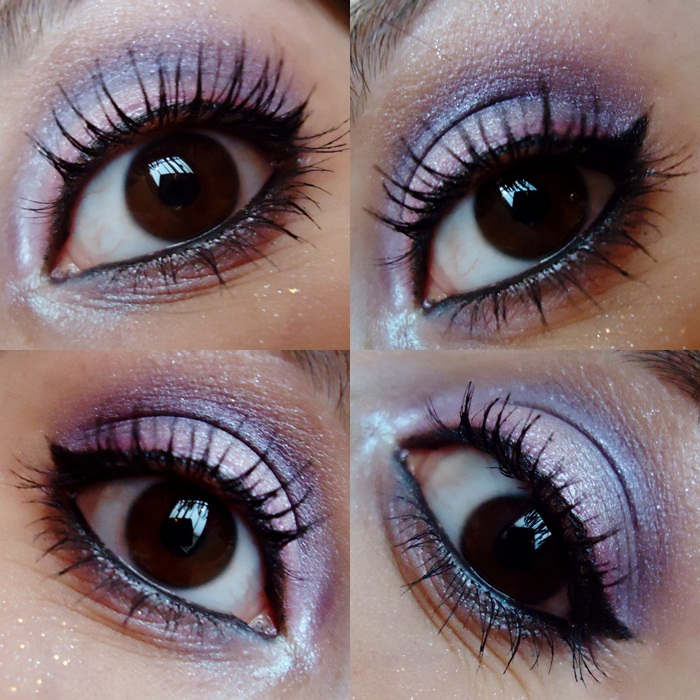 make lilas com roxo