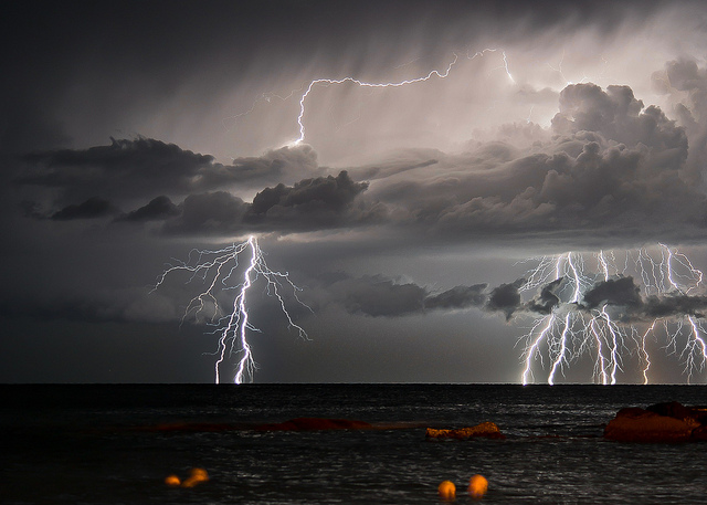 Beautiful Scenery - Lightning vertical inspiration by Francesco