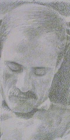 Portrait, Pencil on Paper