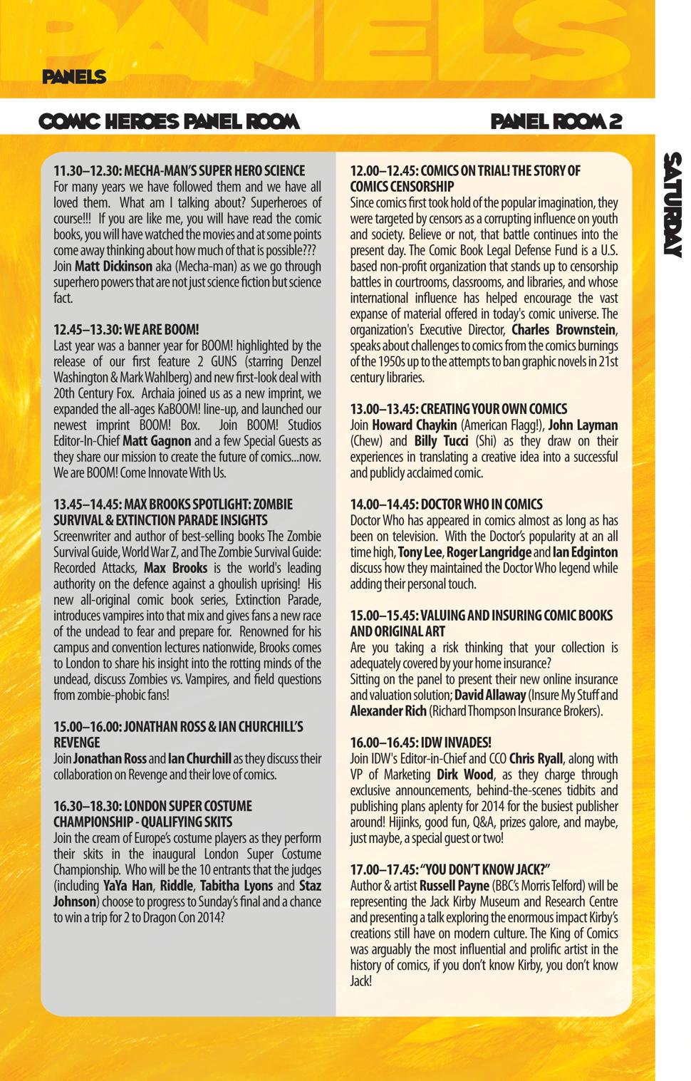 LSCC schedule