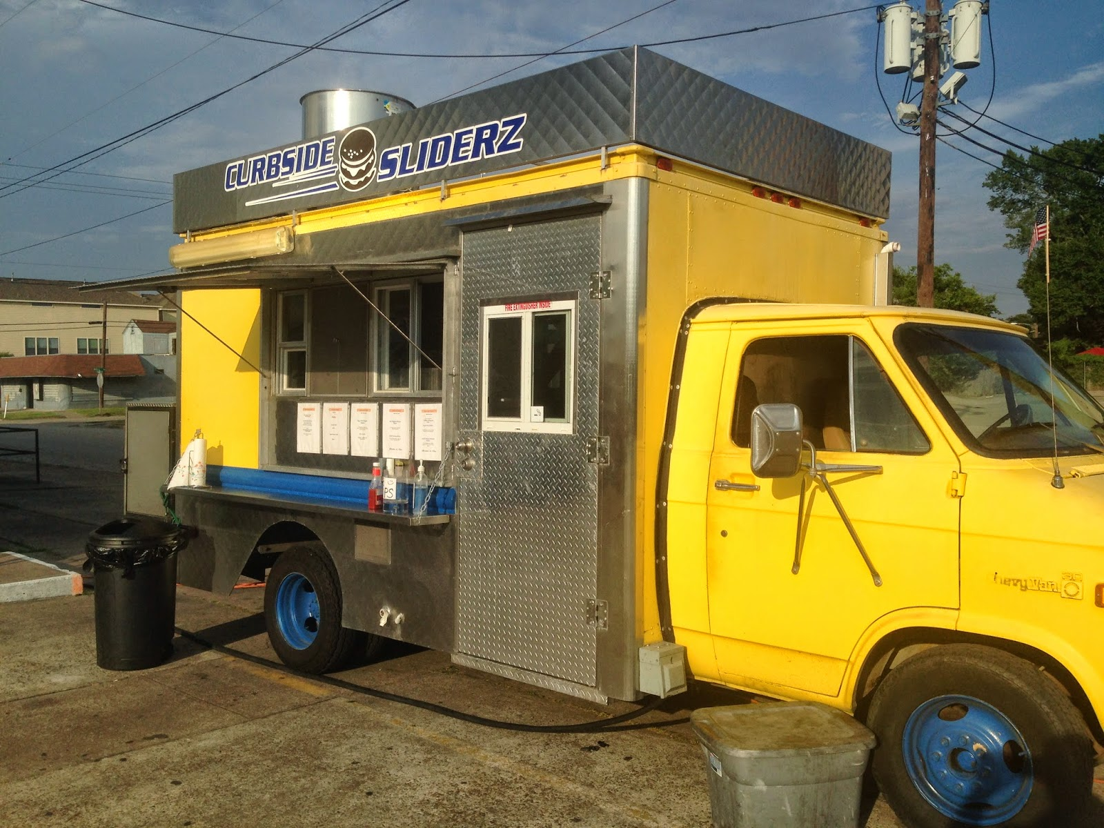 Curbside Sliderz Food Truck, Houston, TX