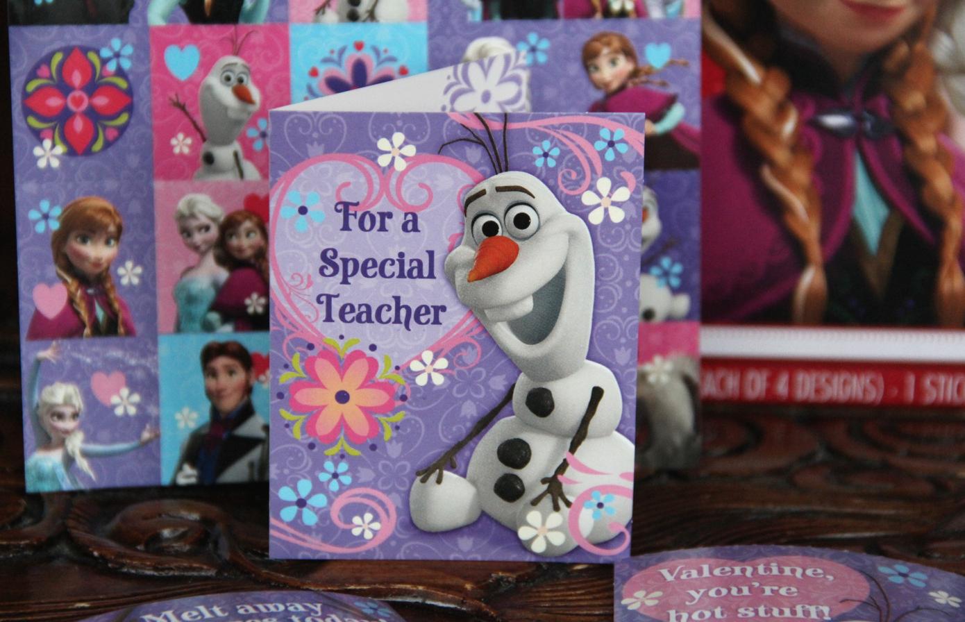 Hallmark Disney Frozen Kids Valentines Olaf - Diana #LoveHallmarkCA