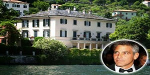 George Clooney Home