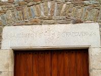 Llinda datada al 1686