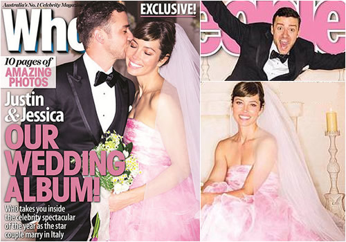 Justin Timberlake And Jessica Biel Wedding Photos Revealed