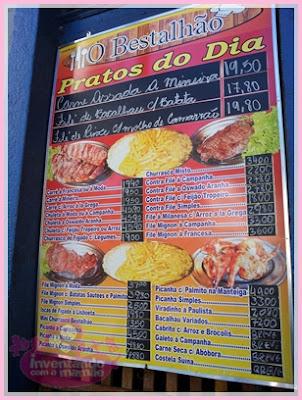Restaurante Bestalhão em São Cristóvão