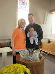 Grant's Baptism!!  He is 12 wks old and 10# already :)
