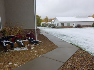First snowfall at Cedar Ridge Academy Therapeutic Boarding School