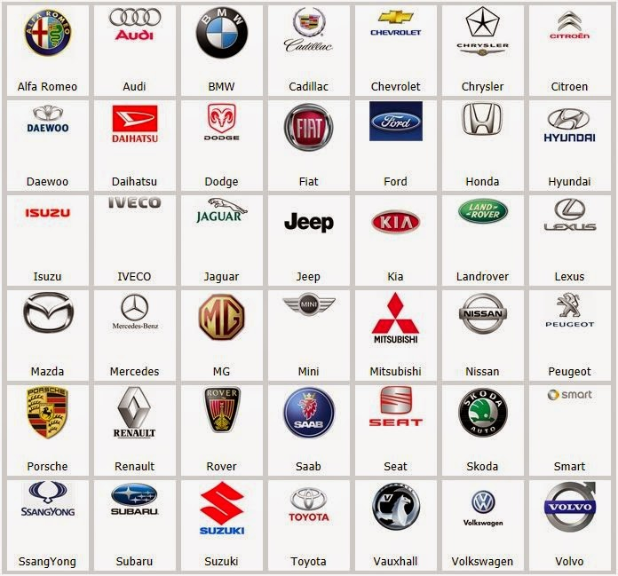 Auto Logos Images Auto Company Logos