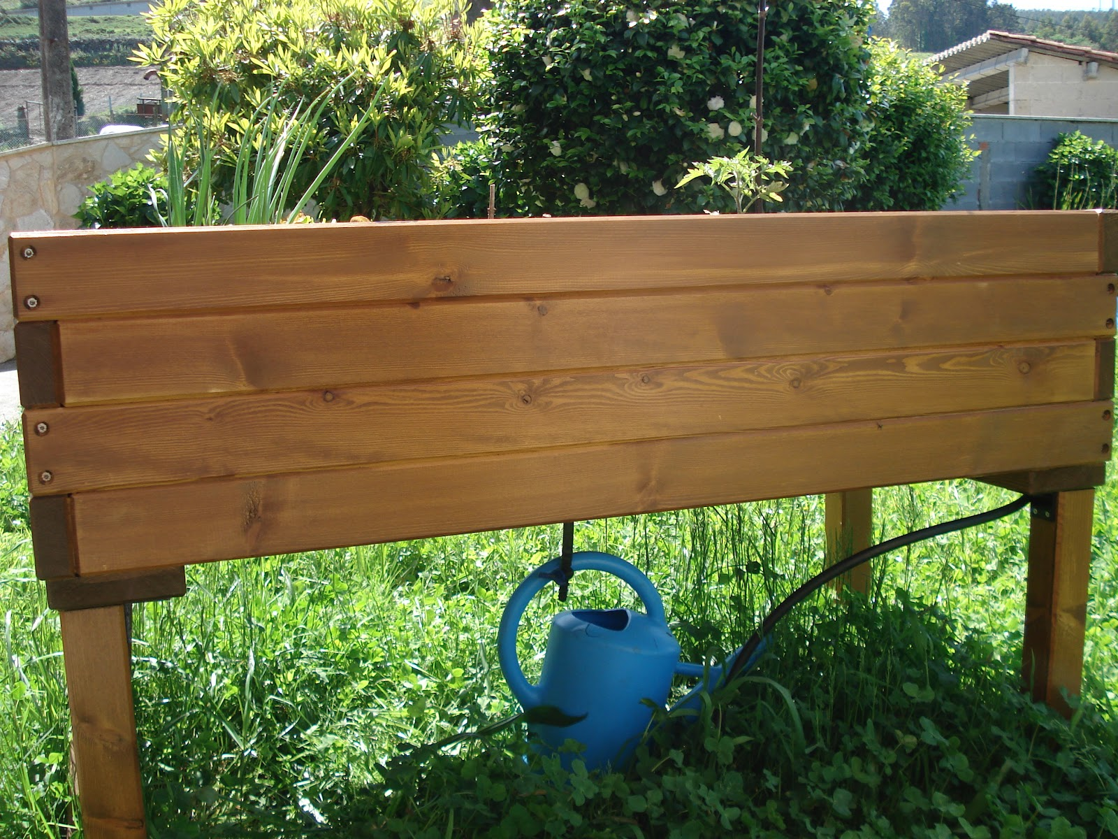 Madreselva jardiner a ecol gica madreselva xardiner a ecol xica nuestra mesa de cultivo - Drenaje mesa de cultivo ...