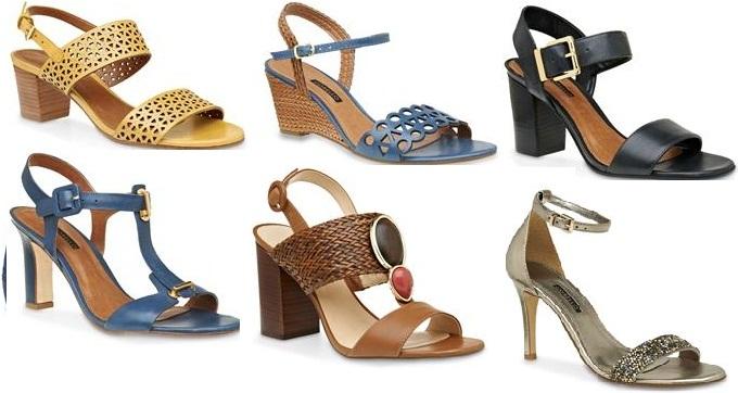 Melhores modelos sandálias réveillon 2015