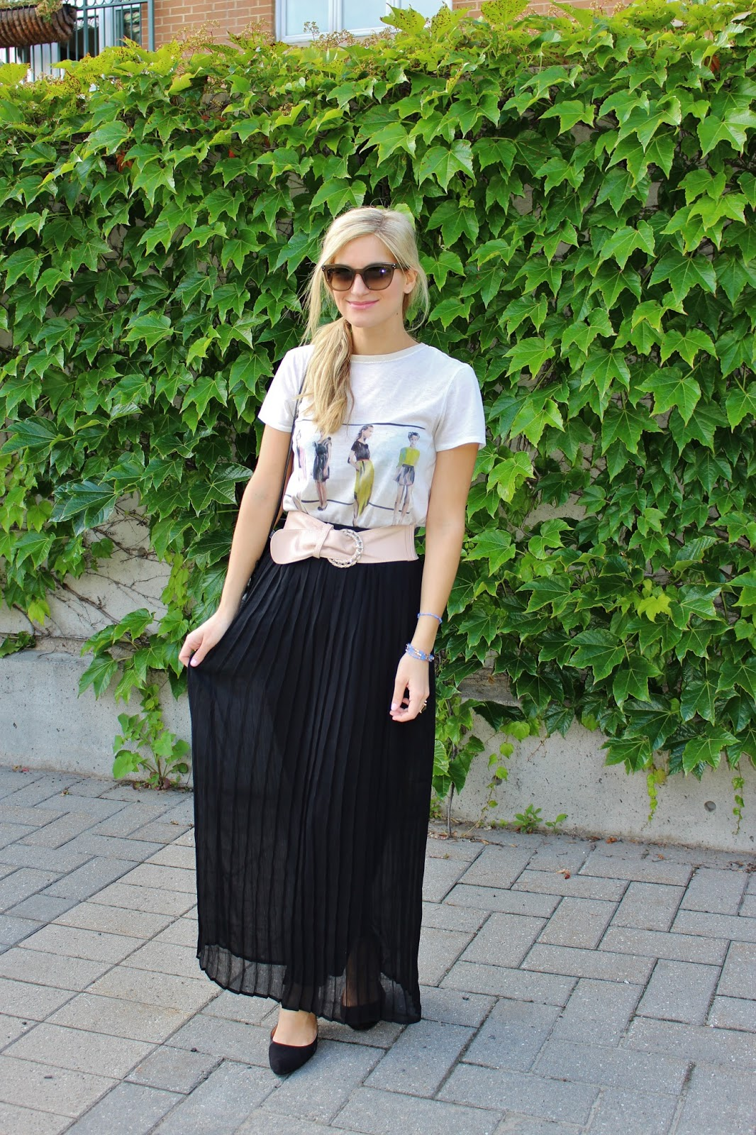 bijuleni - maxi black skirt
