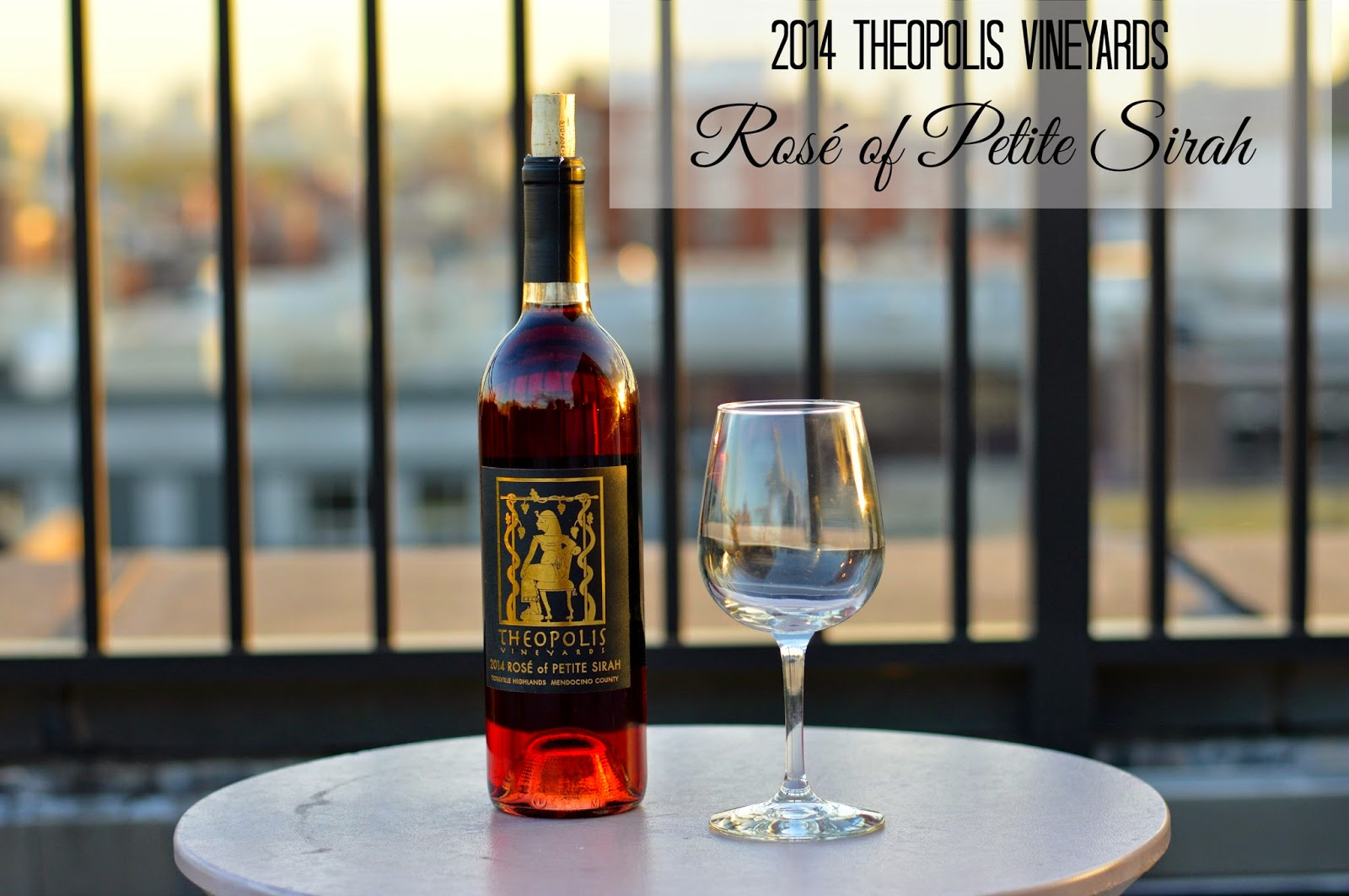 Natasha's Monthly Wine Pick: 2014 Theopolis Vineyards Rosé of Petite Sirah