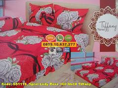 Harga Sprei Lady Rose 160 Motif Tiffany Jual