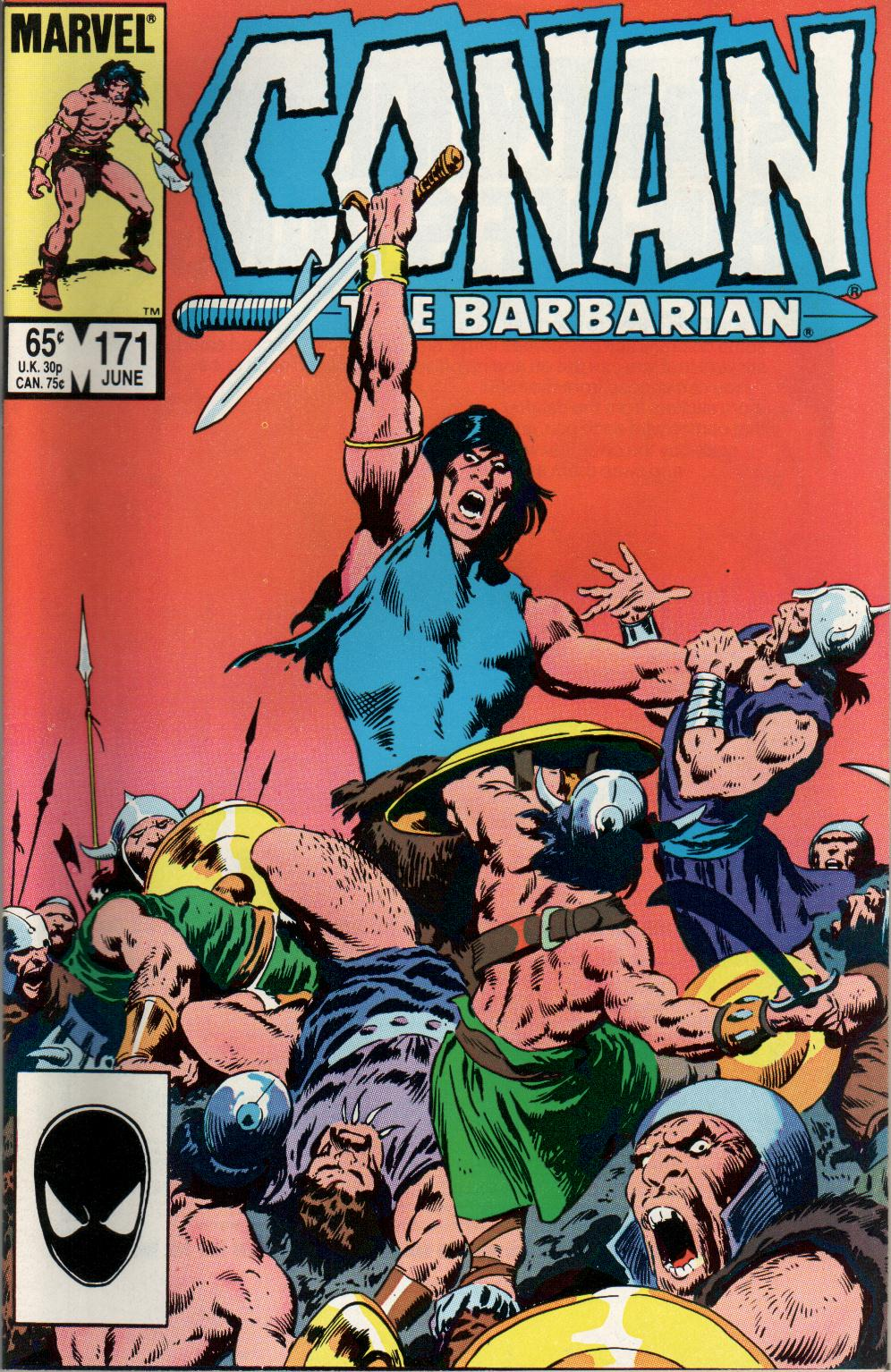 Conan the Barbarian (1970) Issue #171 #183 - English 1