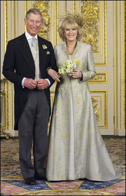 Royal Wedding Pictures: Charles, Prince of Wales, and Camilla Parker Bowles, HRH The Duchess of Cornwall