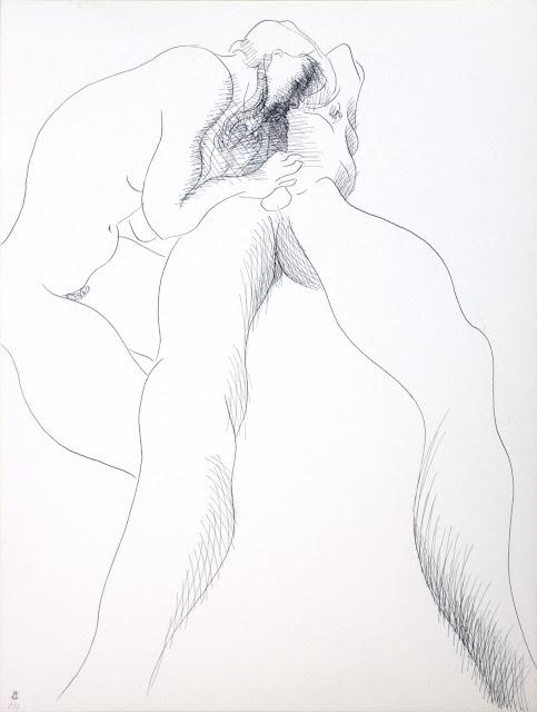 dessin erotique pornographique fellation