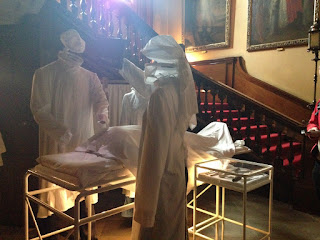 Operating theatre at Dunham Massey