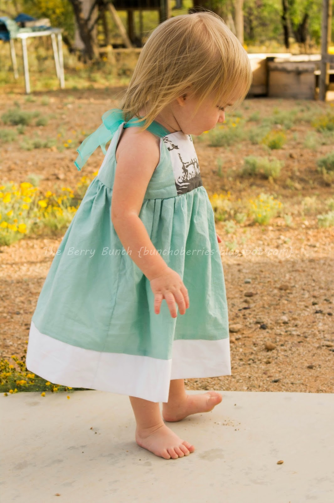 The Berry Bunch: Tea Party Dress: GYCT Designs Firecracker