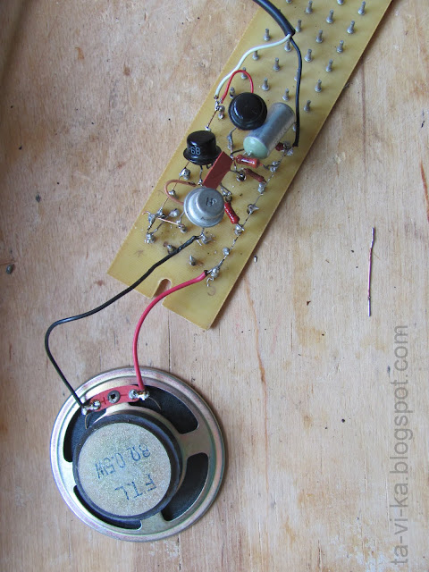 электрическая схема пищалки