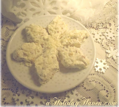 Snowflake Cheeseball Recipe