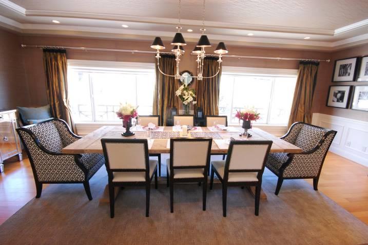 Golden Gate Dining Room E Design Update