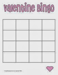 Valentine's Day Blank Bingo Card 5