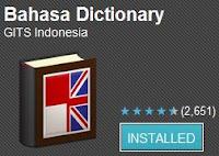 Kamus bahasa inggris-indonesia di android