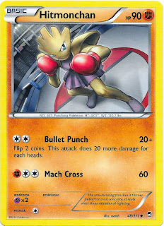 Hitmonchan Furious Fists Pokemon Card
