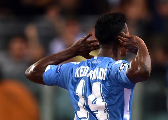 Ironicamente, o senegalês Baldé Keita foi o autor do gol dos italianos (Foto: Alberto Pizzoli/AFP)