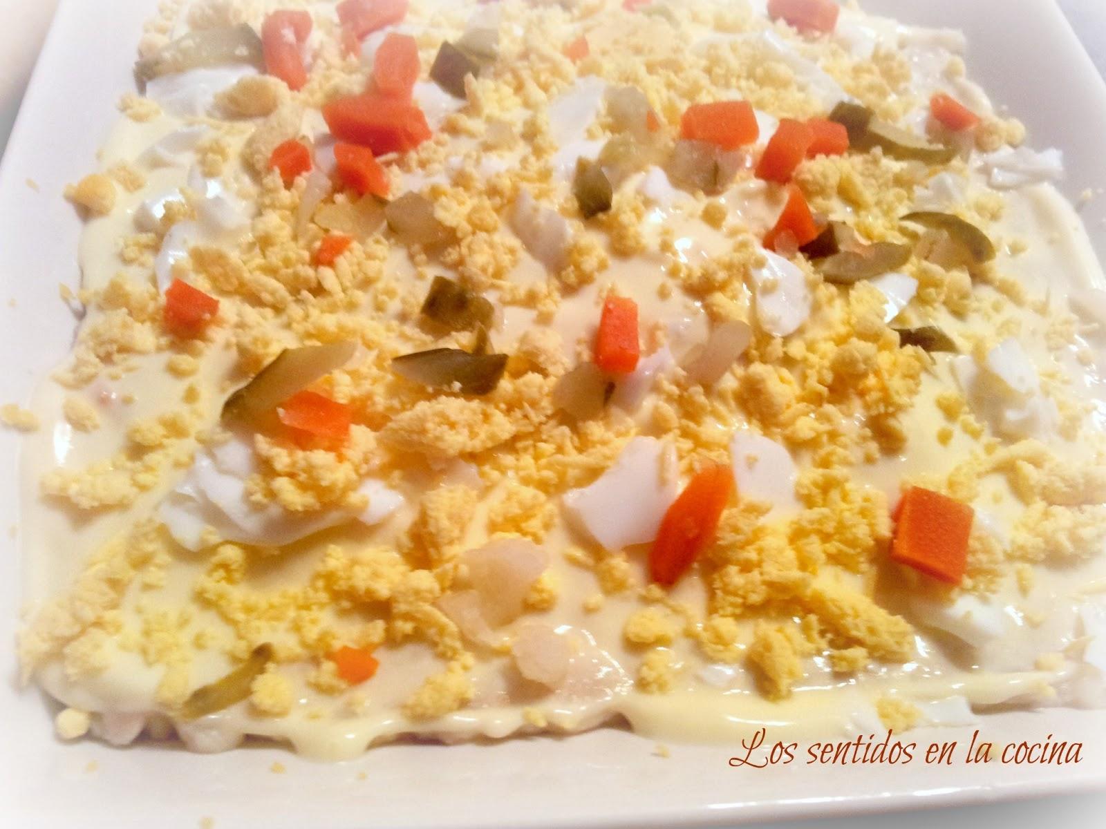 Los sentidos en la cocina: ENSALADILLA RUSA1600